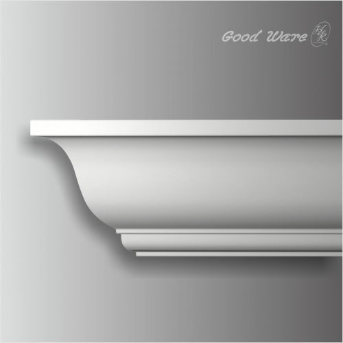 Polyurethane plain contemporary cornice boards