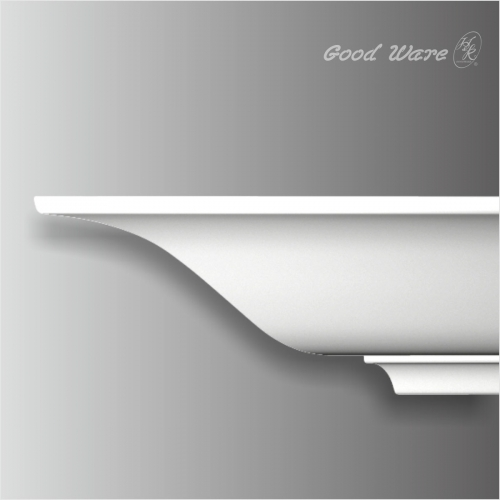 Polyurethane plain window crown molding