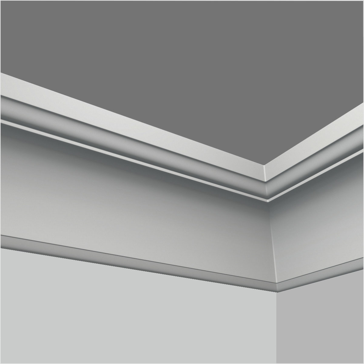 Polyurehtane simple crown molding kitchen cabinets