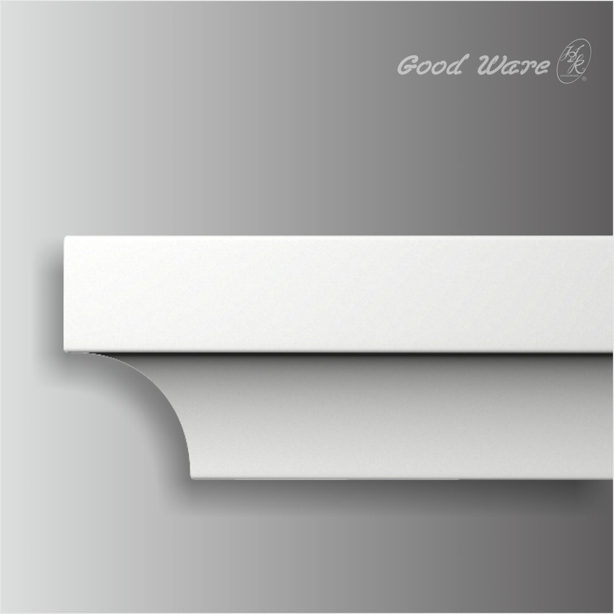 Polyurethane small simple 2 inch crown molding