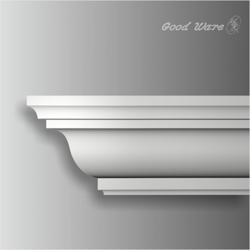 Polyurethane 11 inch outdoor crown moulding