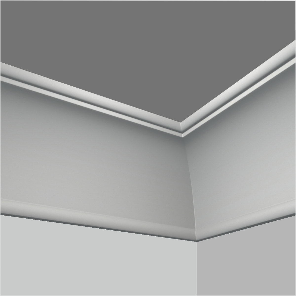 Simple Cove 9 Inch Crown Moulding