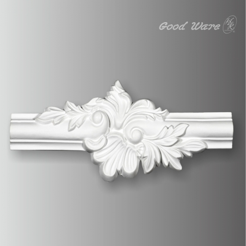 Polyurethane decorative center molding corner