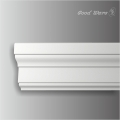 Polyurethane modern white wall panel moulding