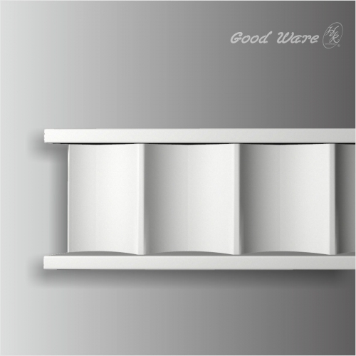 Polyurethane decorative panel molding