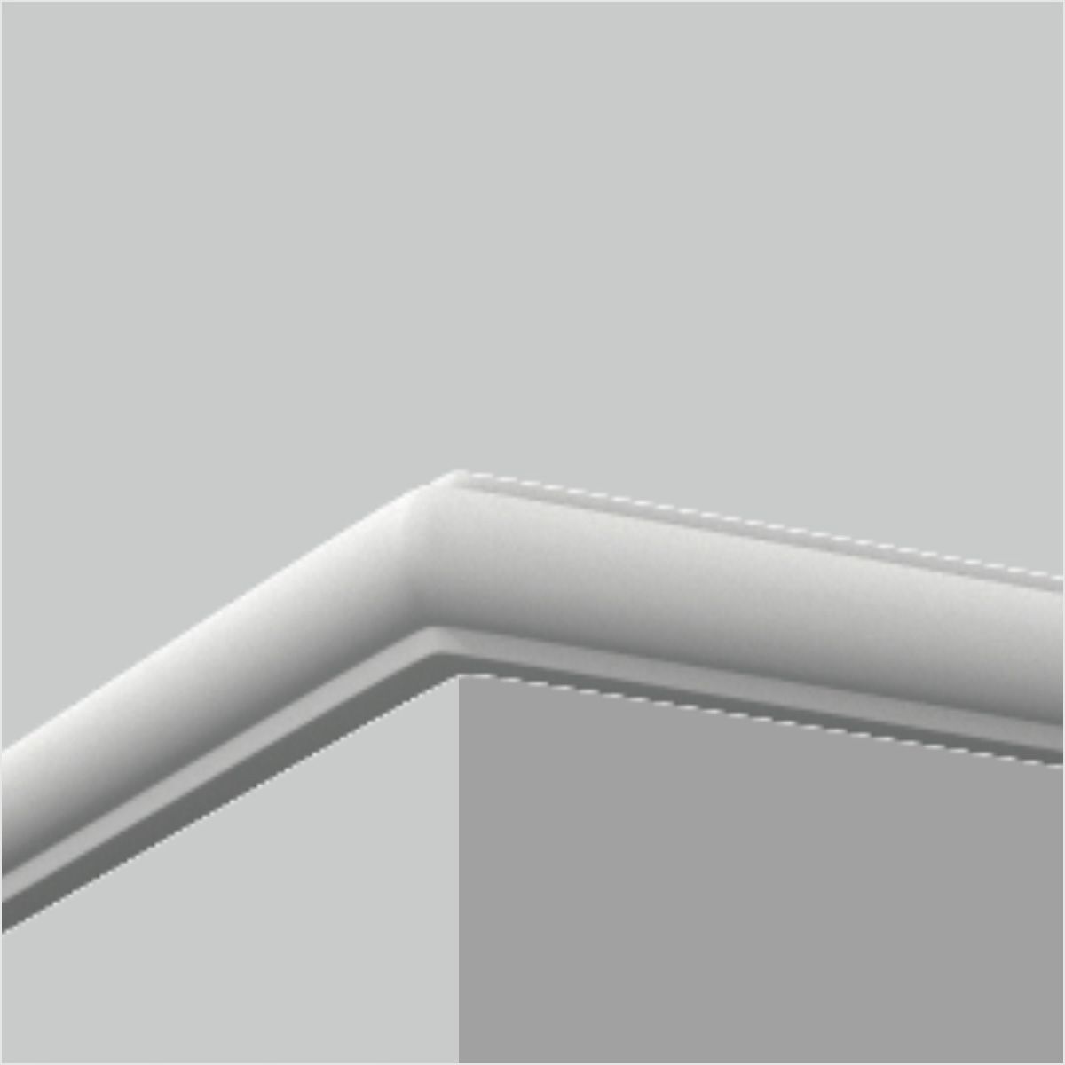 Polyurethane chair rail trim and moulding