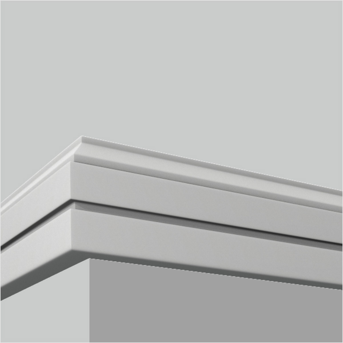 Polyurethane contemprorary baseboards and trim