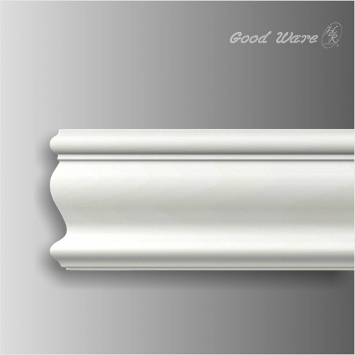 Polyurethane white decorative window trim