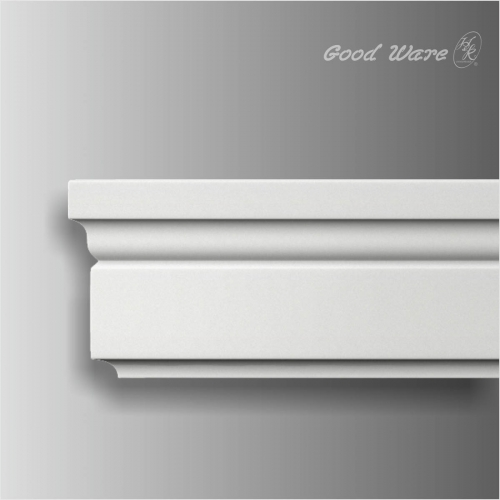 Polyurethane modern baseboards and trim