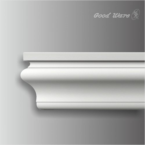 Polyurethane simple bathroom baseboard trim