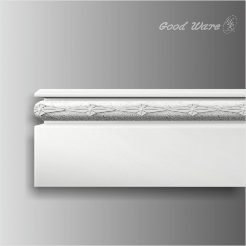 polyurethane decorative baseboard for sale