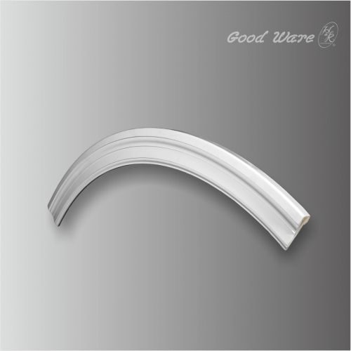 Polyurethane arched moldings trim ceiling decorations