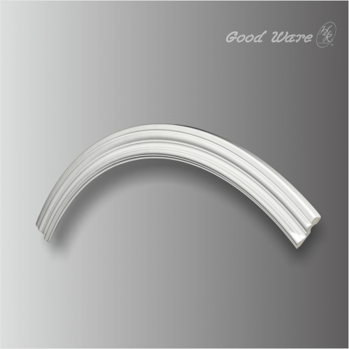 Polyurethane arched moldings trim decoration for ceiling