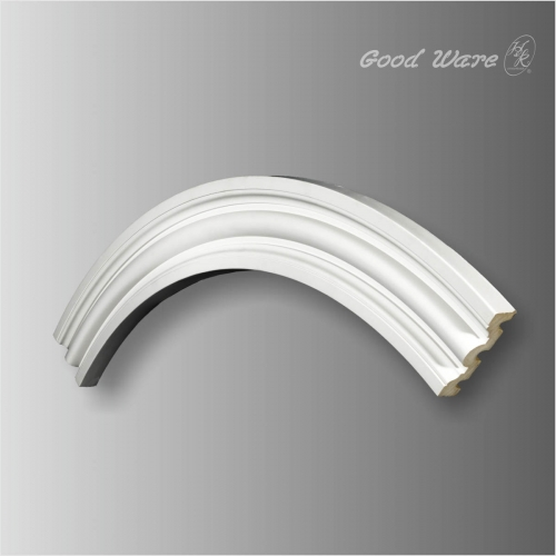 Simple circle moling architectural ceiling design