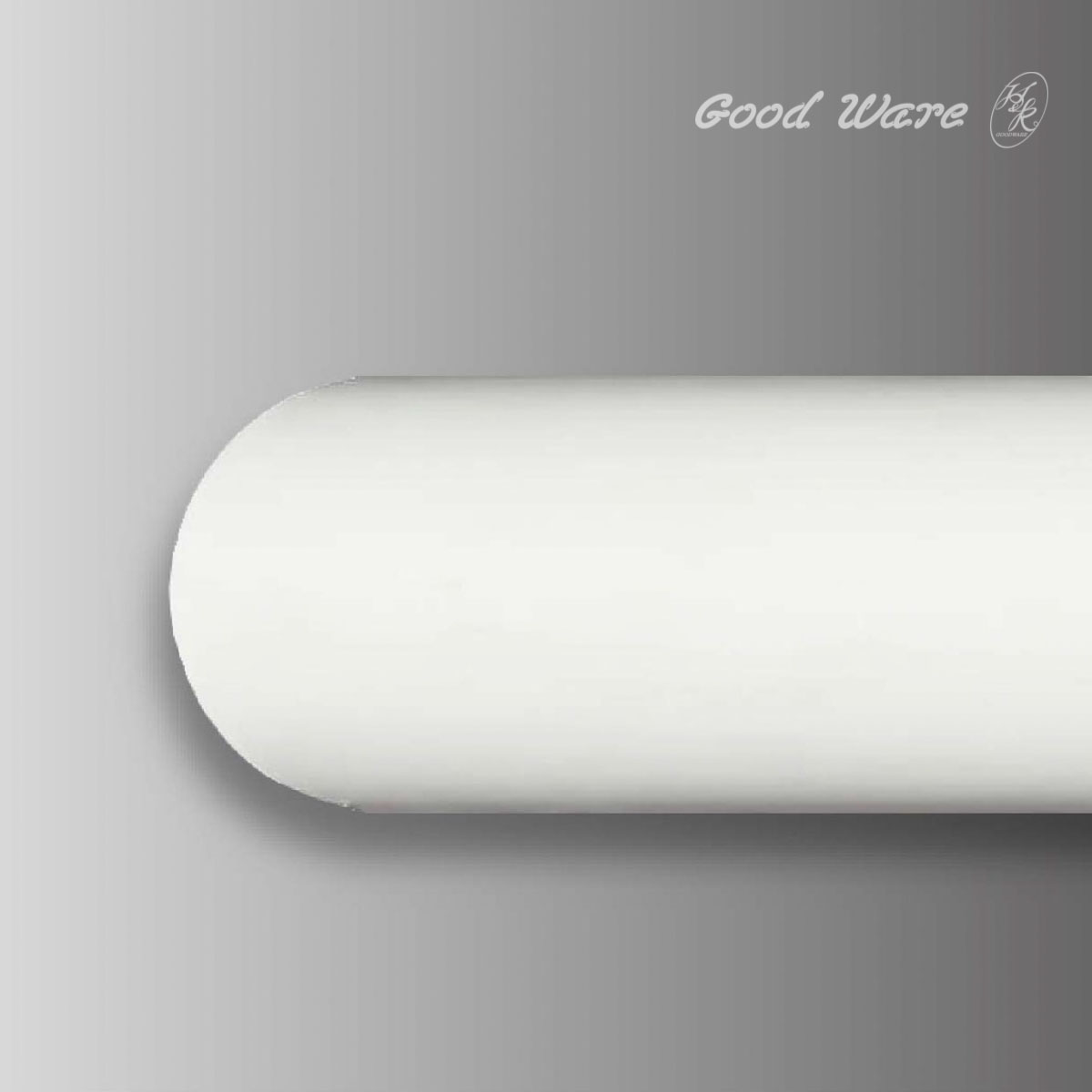 Architectural flexible half round moulding