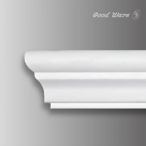 Architectural flexible decorative molding