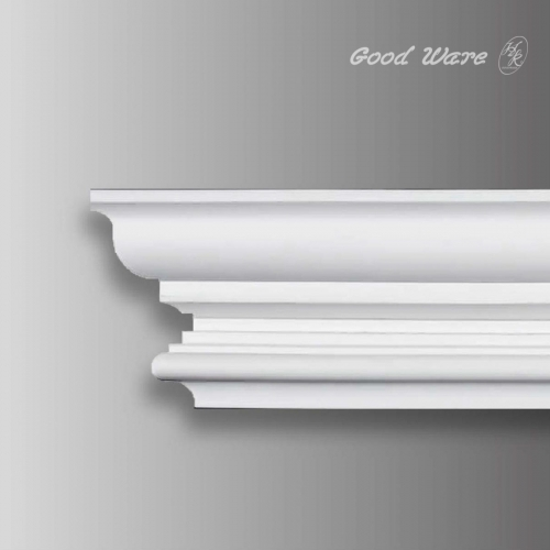 Curved flexible cornice molding ceiling c