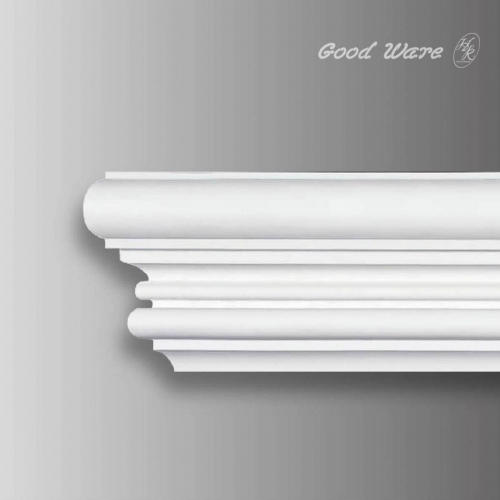 Flexible decorative corner molding