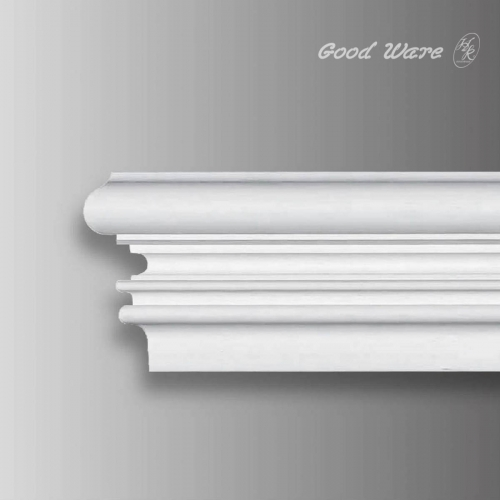Flexible molding trim for wall decor
