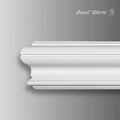 Flexible bendable crown molding trim
