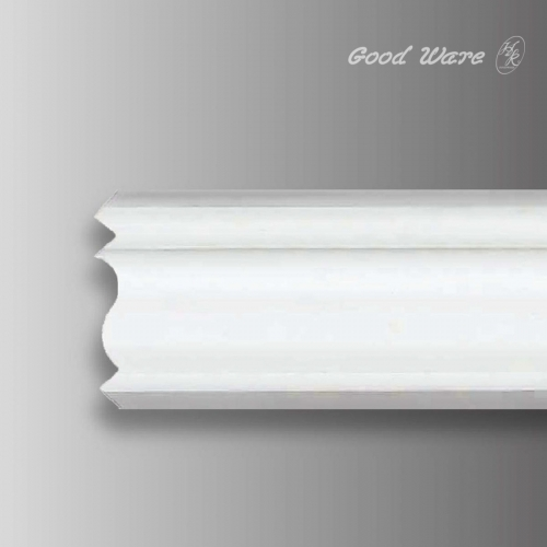 Decorative flexible exterior trim molding