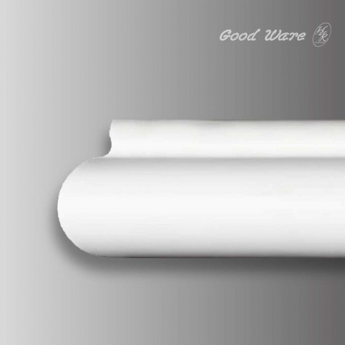 Decorative flexable curved ceiling molding
