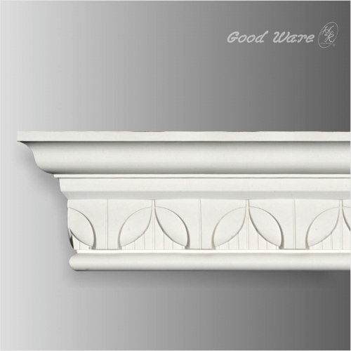 PU decorative leaf crown molding