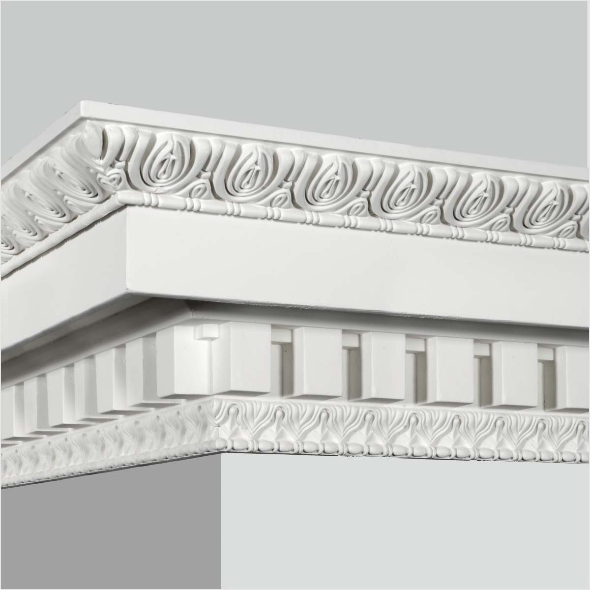 PU architectural ornament crown molding