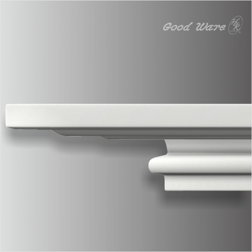 Polyurethane plain popular crown molding