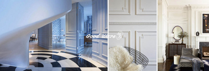The functions and uses of flexible mouldings