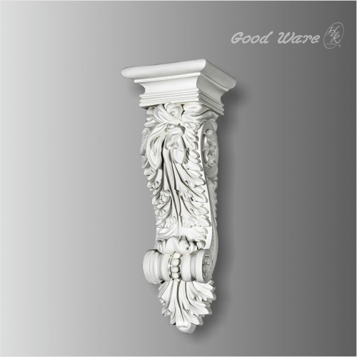 Small acanthus corbels and brackets