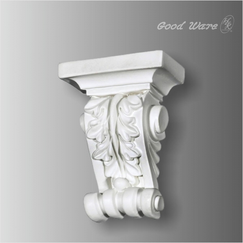 Polyurethane acanthus small corbels