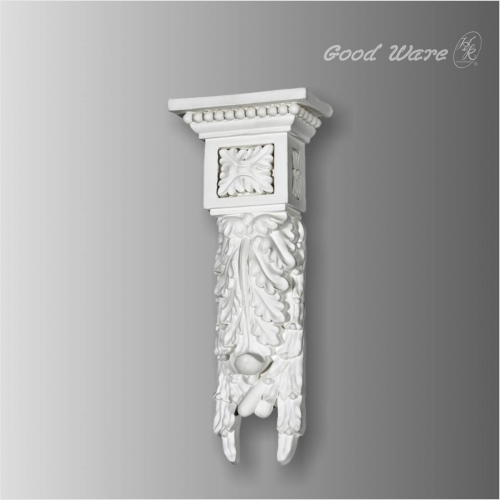Polyurethane baroque antique corbels for sale