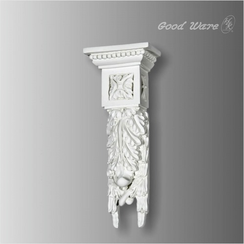 Decorative polyurethane corbels and brackets