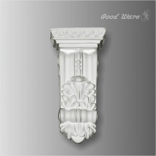 Small egg and dart corbel moulding for sale
