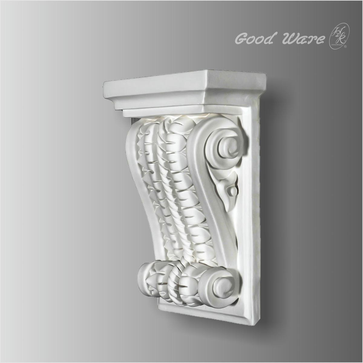 Polyurethane decorative rope shelf corbels bracket