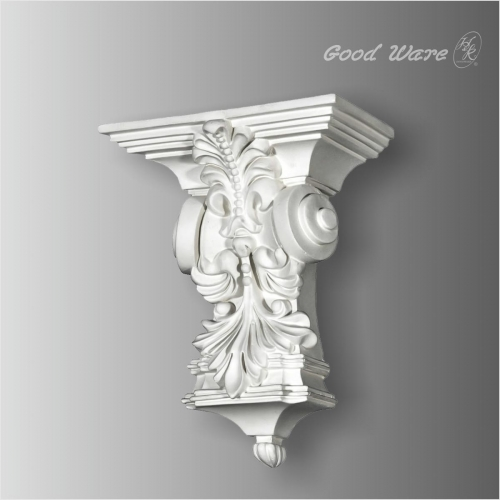 Polyurethane interior decorative corbels for sale
