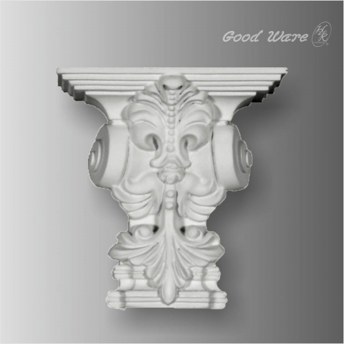 Polyurethane wall décor architectural corbels