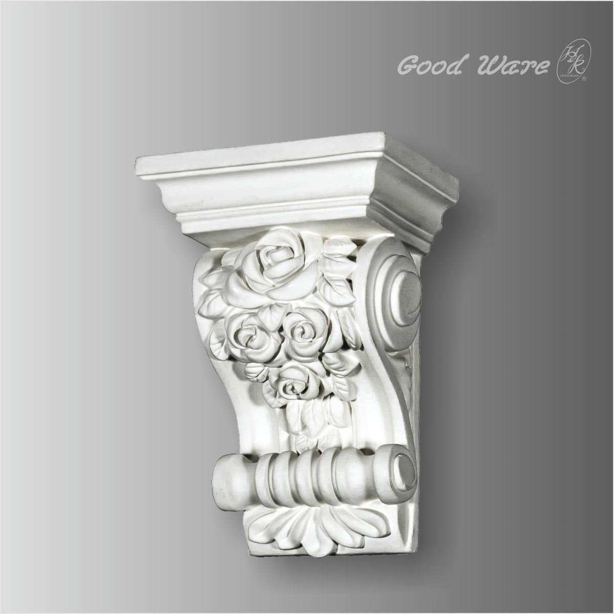 Polyurethane decorative corbels for granite countertops
