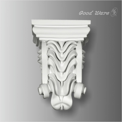 Polyurethane decorative window corbels