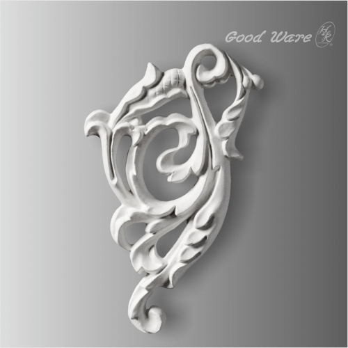Decorative scroll applique mouldings
