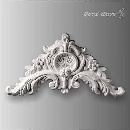 Scroll wall decor applique and onlays