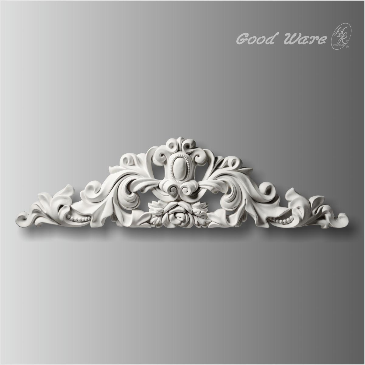 Large wall sculptures appliques and onlays
