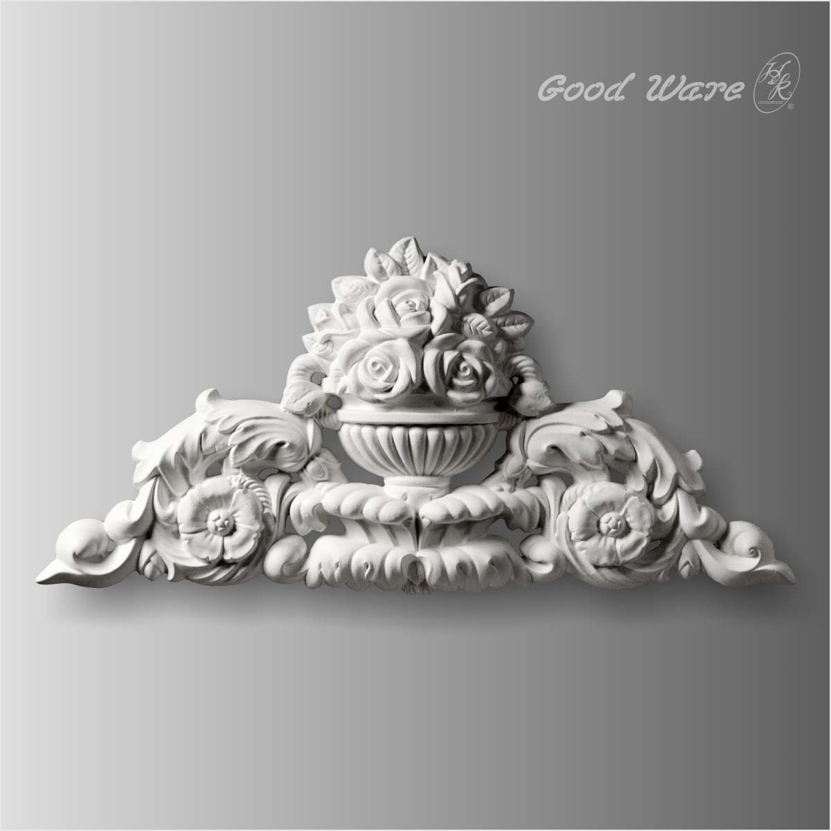 Ornamental moulding appliques for sale