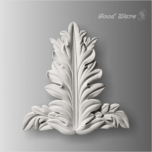 Acanthus leaf applique and onlays