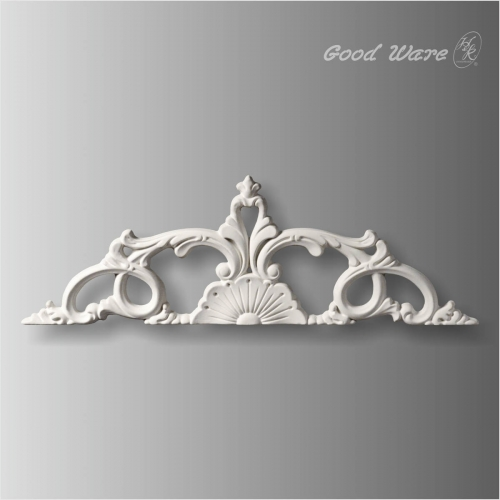 Polyurethane decorative wall accents onlay