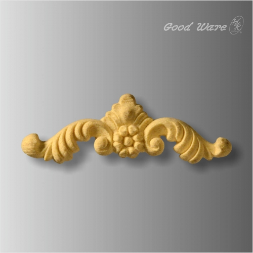 Polyurethane scroll leaf corner rosettes for sale