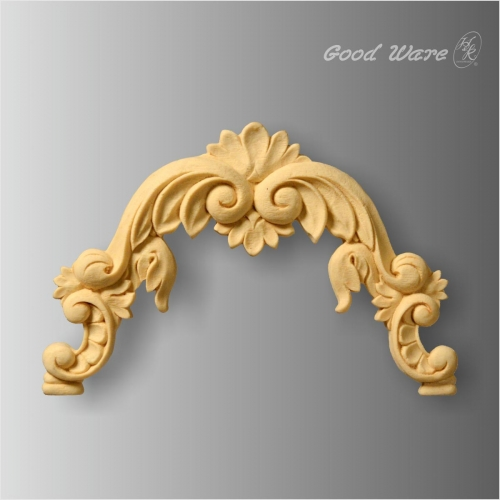 Polyurethane faux wood antique furniture mouldings