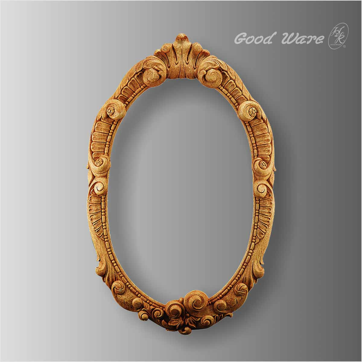 Polyurethane faux wood mirror frames for sale
