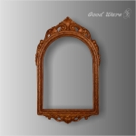 WD-173 Polyurethane faux wood decorate mirror frame